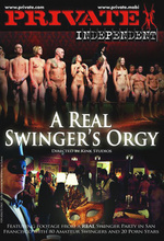 a real swingers orgy private