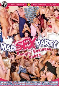 mad sex party banging business babes